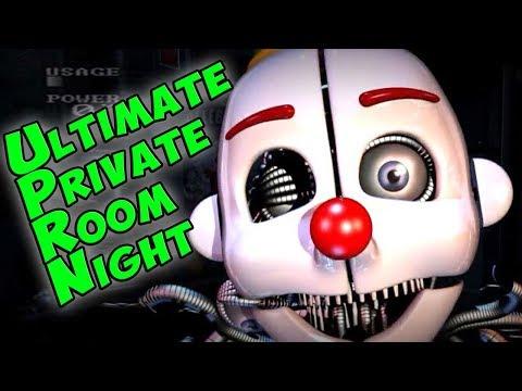 АНИМАТРОНИКИ НАСТУПАЮТ ► Ultimate Private Room Night ► Five Nights At Freddy's фнаф