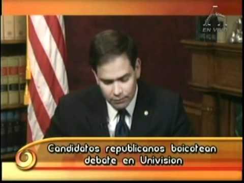 Eduardo Macaya habla de Senador Marco Rubio