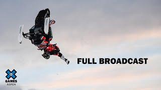 Snowmobile Freestyle: FULL BROADCAST | X Games Aspen 2020