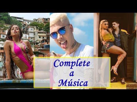 DESAFIO: Complete a Música MC Kevinho Anitta Pabllo Vittar