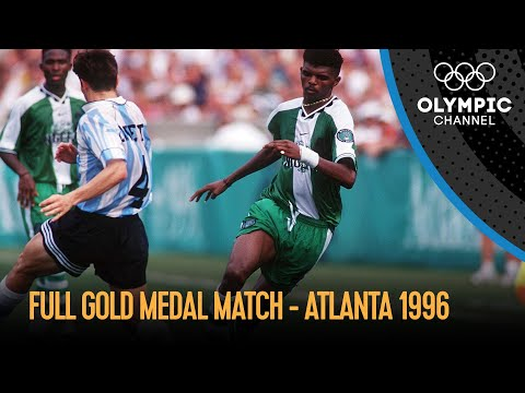 Nigeria vs. Argentina -  Full Men's Football Final | Atlanta 1996 Replays