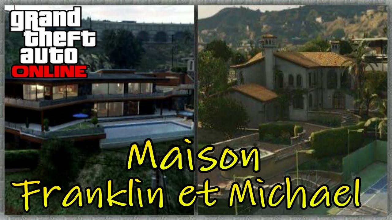 Tuto 8 entrer dans la maison michael et franklin sur for Aoutats dans la maison