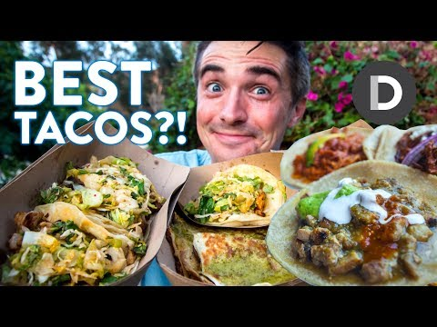 What is: Mexican TACOS? 🌮 LA Taco Eating Tour!