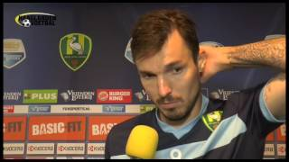 Mike Havenaar na ADO Den Haag - Heracles (28-08-16)