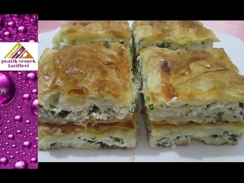 Kolay Börek Tarifi- Pratik Yemek Tarifleri
