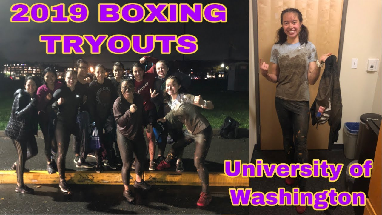 University of Washington 2019 Boxing Tryouts | My Experience