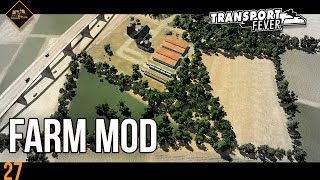 The Farmer Mod in Transport Fever | Metropolis mod spotlight #27