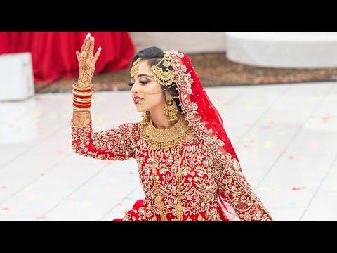 Beautiful Bridal Dance | Indian & Pakistani Wedding | Salaam | Deewani Mastani | #TailorMadeForReza