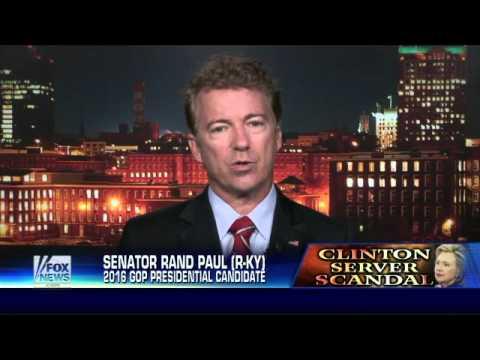 Rand Paul confident FBI investigation of Clinton legitimate