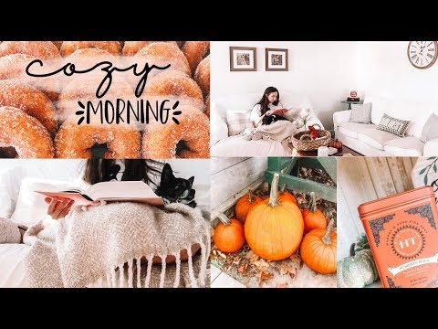 Cozy fall morning routine🍂✨
