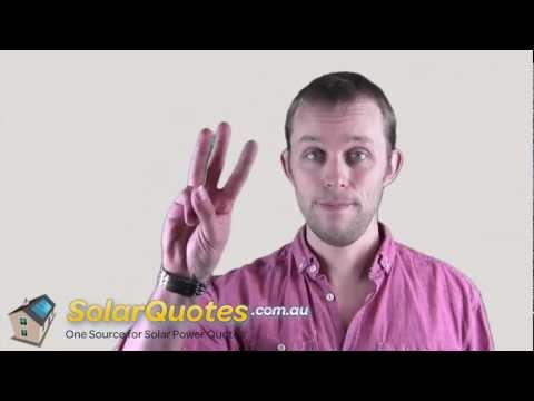 The 5 Golden Rules For Choosing A Solar Installer