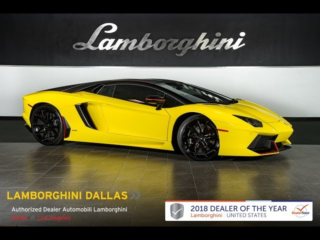 2016 Lamborghini Aventador Lp 700 4 Pirelli Giallo A Nero Nemesis Lt1182 You