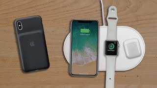 AirPower и Smart Battery Case для iPhone XS/XR