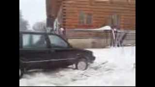Nissan Prairie vs 48cm Sněhu