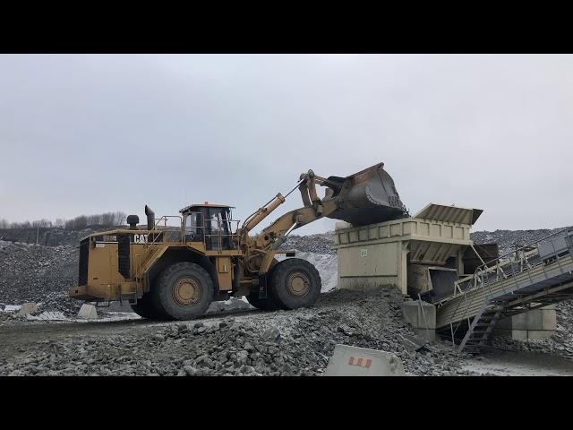 Cat 988H 50 ton Wheeloader