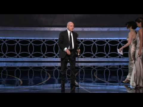 Alan Arkin winning Best Supporting Actor