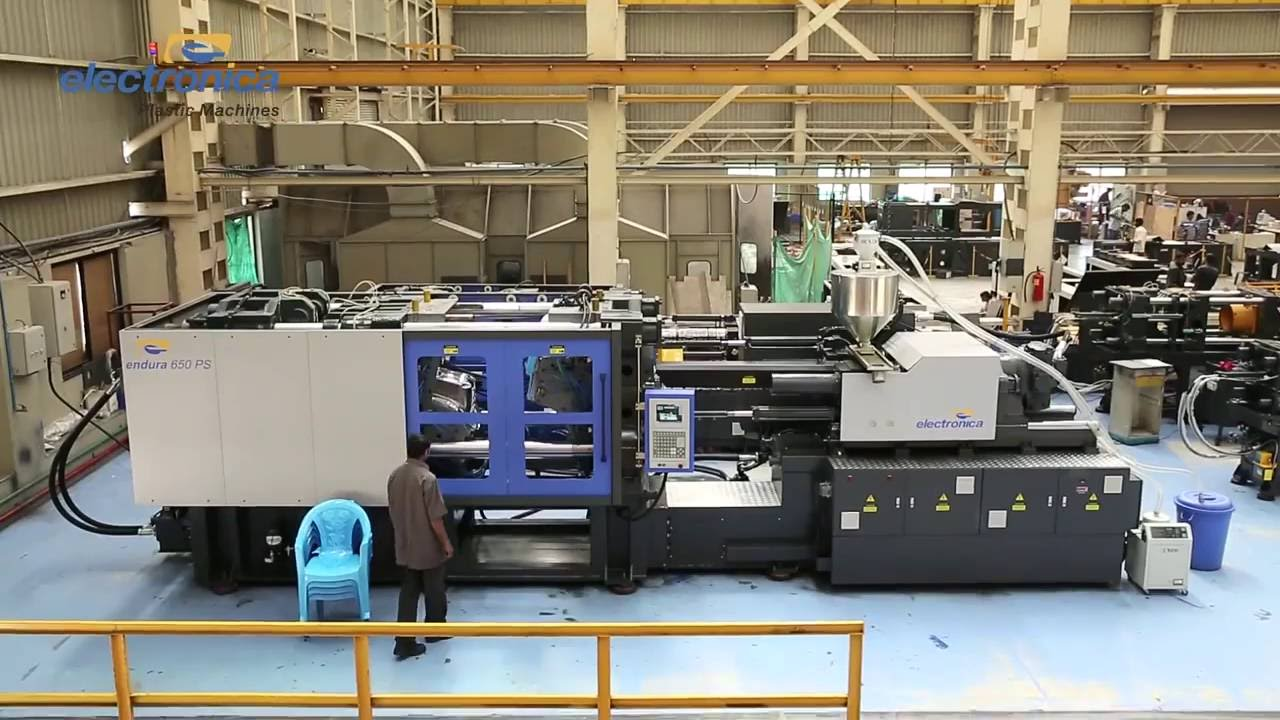 injections moulding machines by electronica plastic