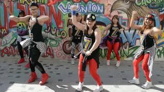 3 daqat - abu ft. Yousra (cover remix by carolina) ZCREW dance zumba fitness