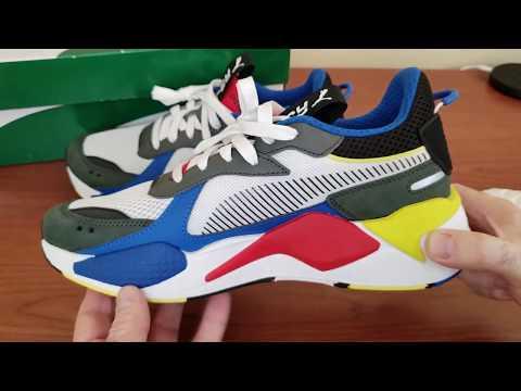 Puma RS-X Toys Original \u0026 Fake - YouTube