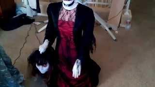 Life-size Beheaded Bride Demo Video