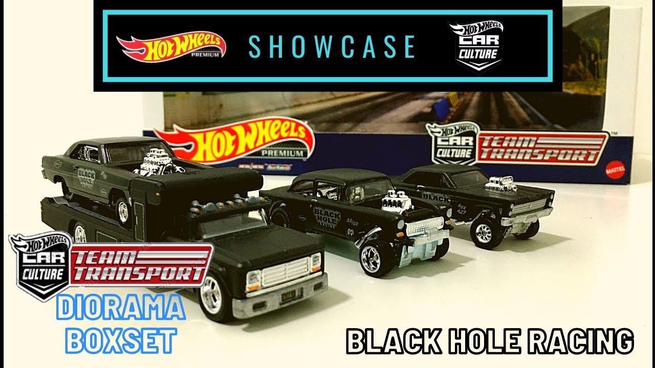 Car Culture Hot Wheels Brand New Team Transport Black Hole Racing