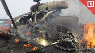 Вертолёт разбился в Хабаровске