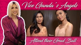 Vice Ganda's Angels attend their Graduation Ball