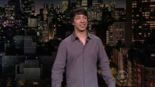 ArJ Barker on David Letterman - 19Jan09 ARJ BARKER