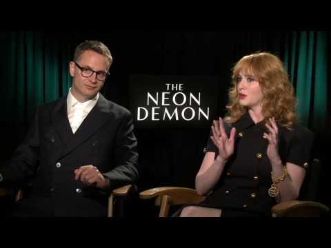 "The Neon Demon: Director Nicolas Winding Refn & Christina Hendricks ""Jan"" Interview"