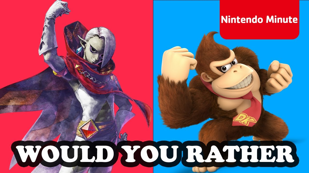 'Would You Rather' Nintendo Switch Edition