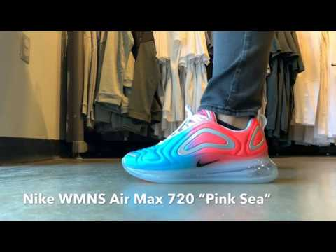 Grapa expedido Incomparable  The Nike Women's Air Max 720 Pink Sea WILL GET YOU ATTENTION!! - YouTube