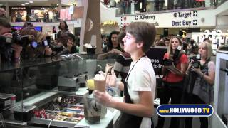 Disney stars Dylan and Cole Sprouse at Millions of Milkshakes Westfield Culver City