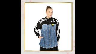 Куртка джинсовая Женская одежда оптом из Турции Большие размеры Wholesale women clothing Plus size