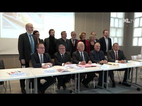 Mobilisation des socio-professionnels et élus landais en faveur de la LGV Sud Europe Atlantique