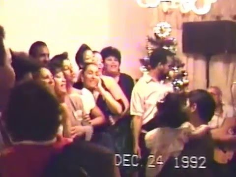 Parranda Diciembre 24, 1992 (La Familia Soto) Yonkers, New York - Part 1 of 2
