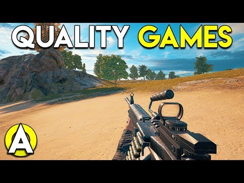 QUALITY GAMES - PLAYERUNKNOWN'S BATTLEGROUNDS