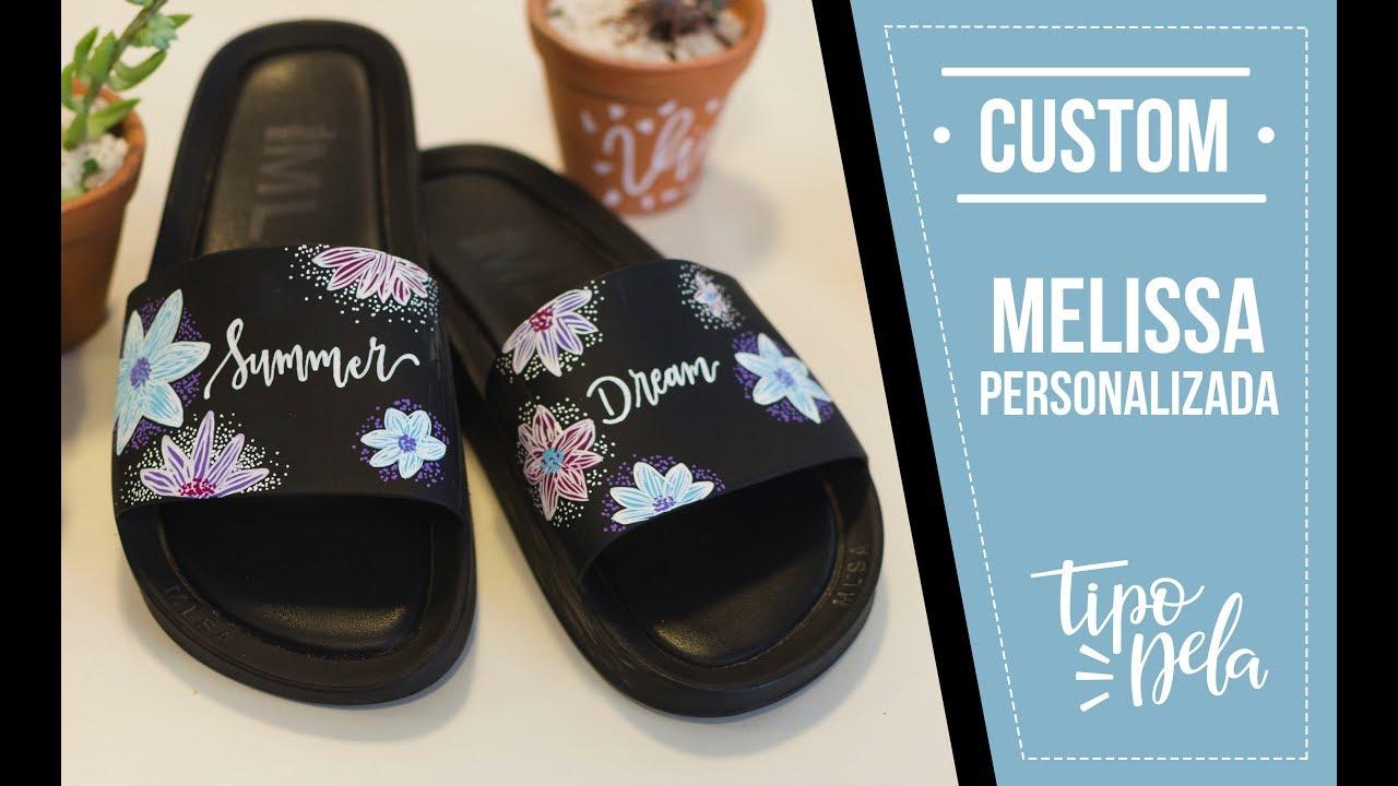 b4511b0bb168f5 Custom - Chinelo Melissa Personalizado