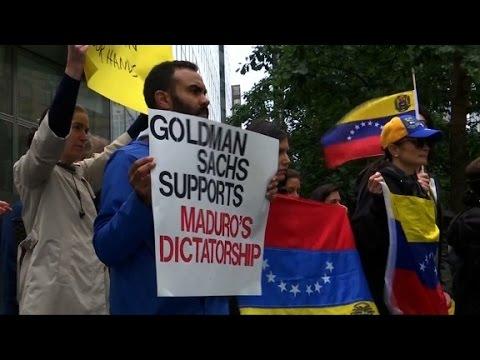 Goldman's Venezuela purchase 'morally indefensible'