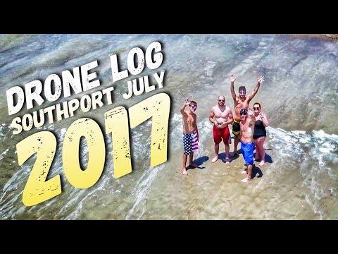 4K Drone V-Log - Southport, NC July 2017