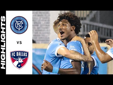 New York City Dallas Goals And Highlights