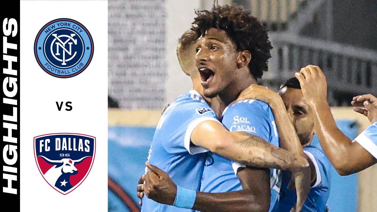 HIGHLIGHTS: New York City FC vs. FC Dallas   September 14, 2021