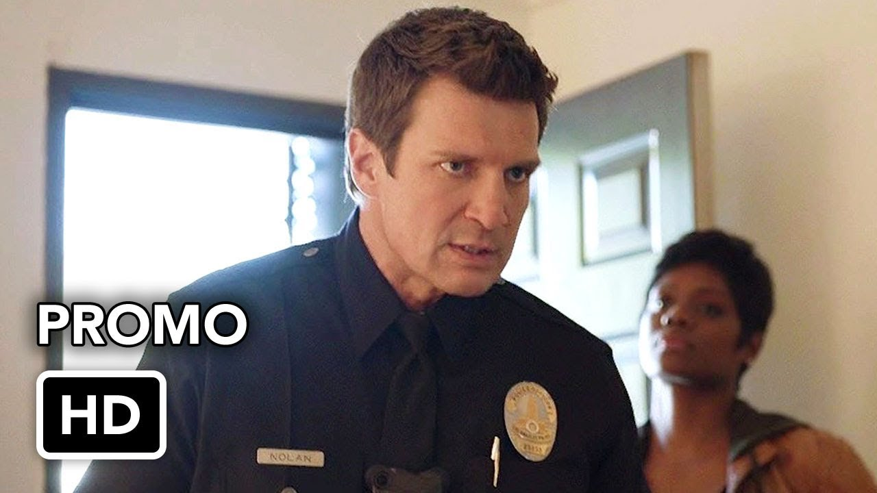 """Download The Rookie 1x14 Promo """"Plain Clothes Day"""" (HD) Nathan Fillion series"""