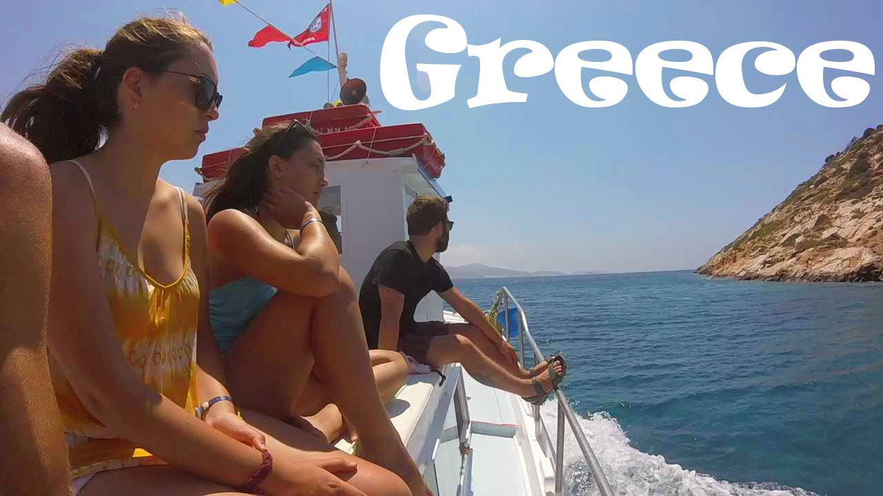 topless greek beach girls