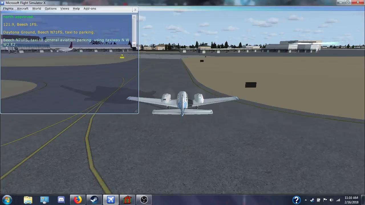 FSX (Microsoft Flight Simulator X) - Playing on FSEconomy (NO SOUND