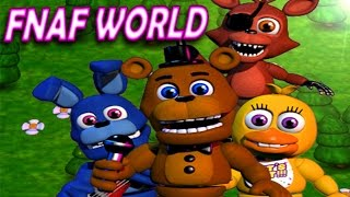 FNaF World Find The Mystery Animatronic - Five Nights at Freddy's World Live Stream
