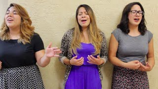 Lo Unico Que Quiero-Marcos Barrientos feat. Marcela Gandara (Cover by Rachel, Kathy, and Elisa)