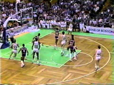 22.01.1986.- Lakers@Celtics: Larry Bird 22/12/7, Great Bill Walton, GOAT Team