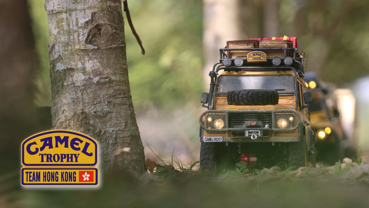 Land Rover Defender Camel Trophy >> 20160228 The 5th RC Defender Fest - Camel Trophy Team Hong Kong - YouTube