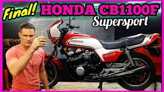 1983 HONDA CB1100F SUPERSPORT FINAL RESTORE RESTORATION RIDE REBUILD screenshot 1
