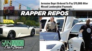 Repossessing Jermaine Dupri's Lamborghini